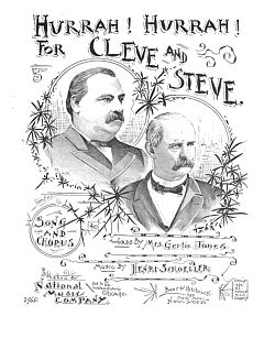 """Hurrah! Hurrah! For Cleve and Steve""..."