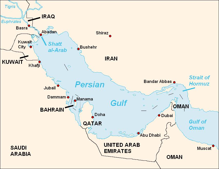 Yttre rymden anfaller iran