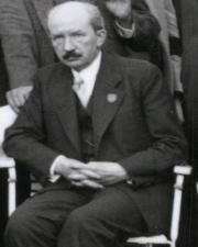 Walther Bothe en Stuttgart, 1935.