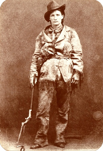 Calamity Jane with gun