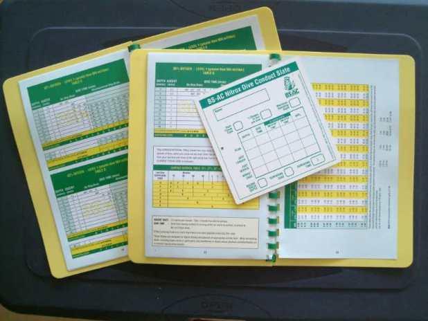 BSAC DECOMPRESSION TABLES DOWNLOAD