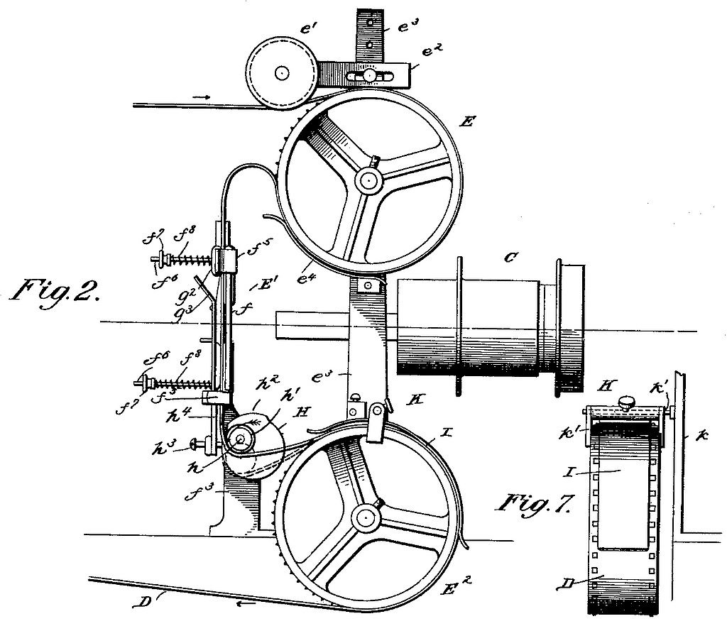File Drawing Of Device Embodying Latham Loop Patent