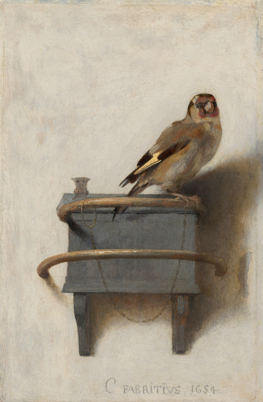 Carel Fabritius The Goldfinch 1654 1965—3000