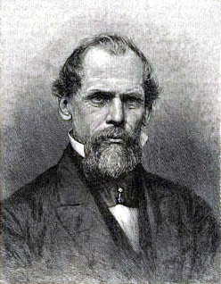 English: Engraving of John Augustus Roebling
