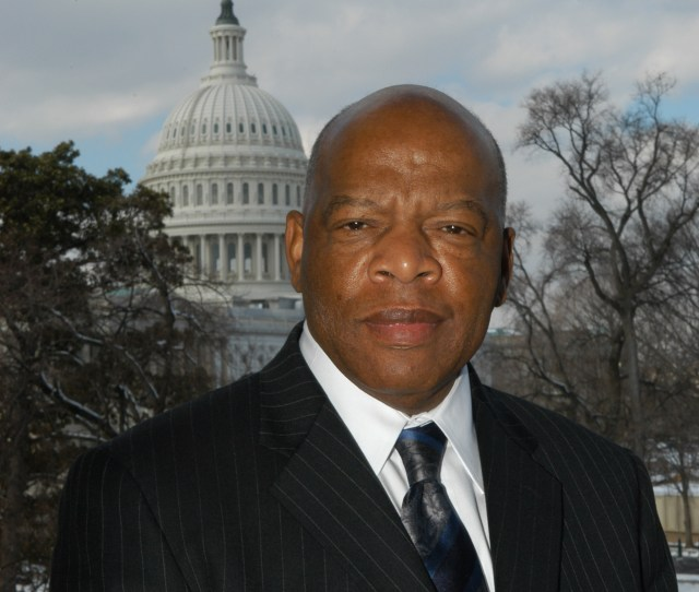 Congressman John Lewis D Ga Boycotted The Trump Inauguration Image From