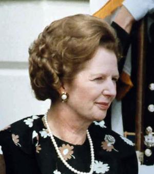 Margaret Thatcher, 1983