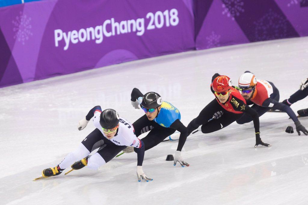 Patinao De Velocidade Em Pista Curta Nos Jogos Olmpicos
