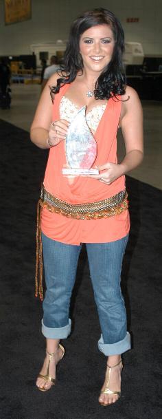 Porn star Taryn Thomas at the 2006 Erotica Los...