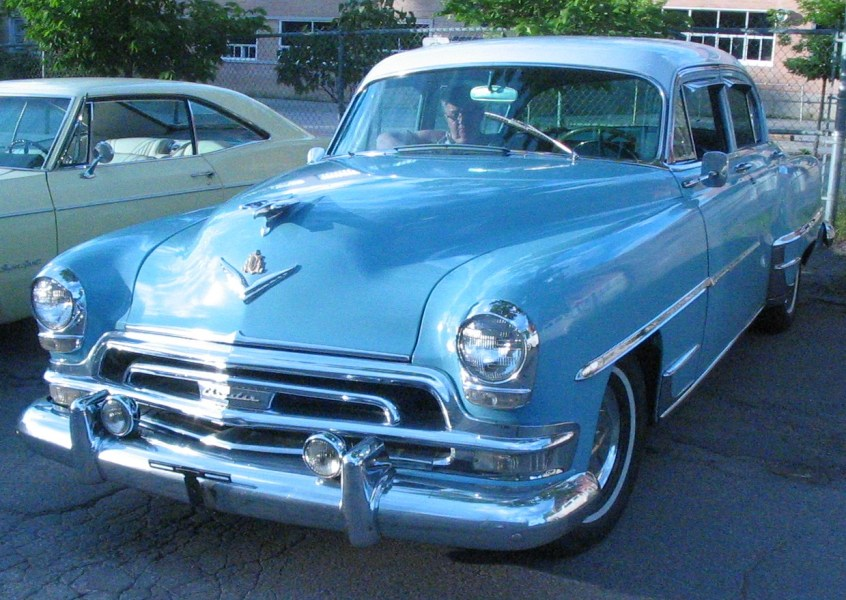 1954 cadillac cars » Chrysler New Yorker   Wikipedia Una Chrysler New Yorker coup     del 1954