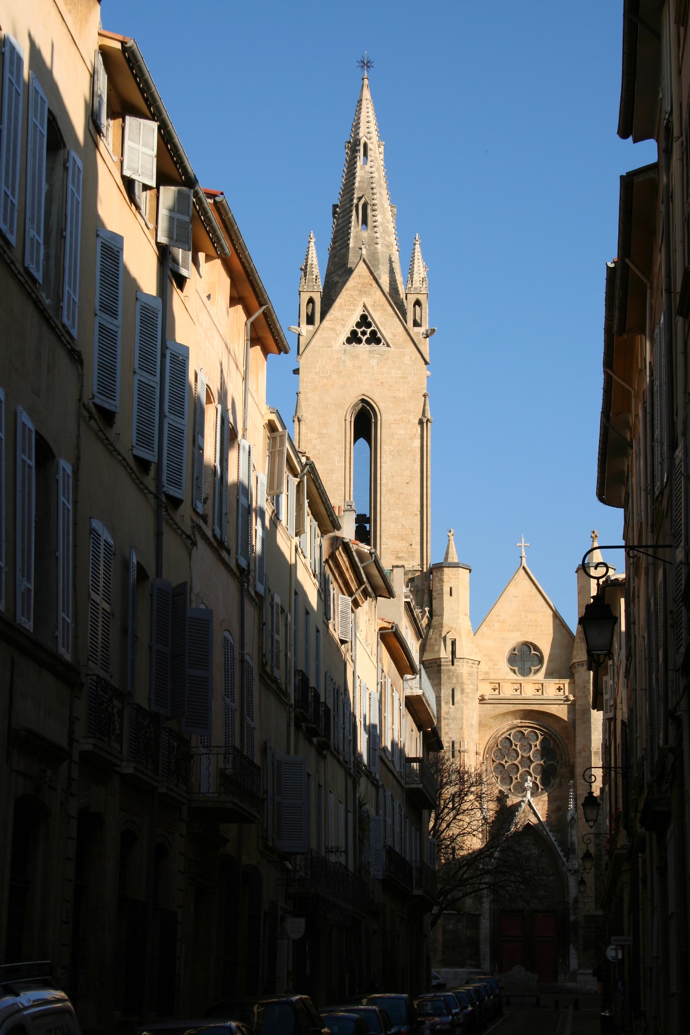 Français : Église Saint-Jean-de-Malte, Aix-en-...