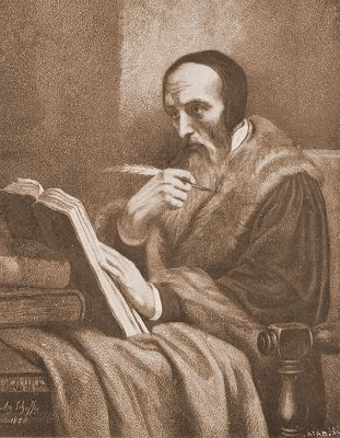 English: John Calvin Deutsch: Maße: 41 x 29,5 ...
