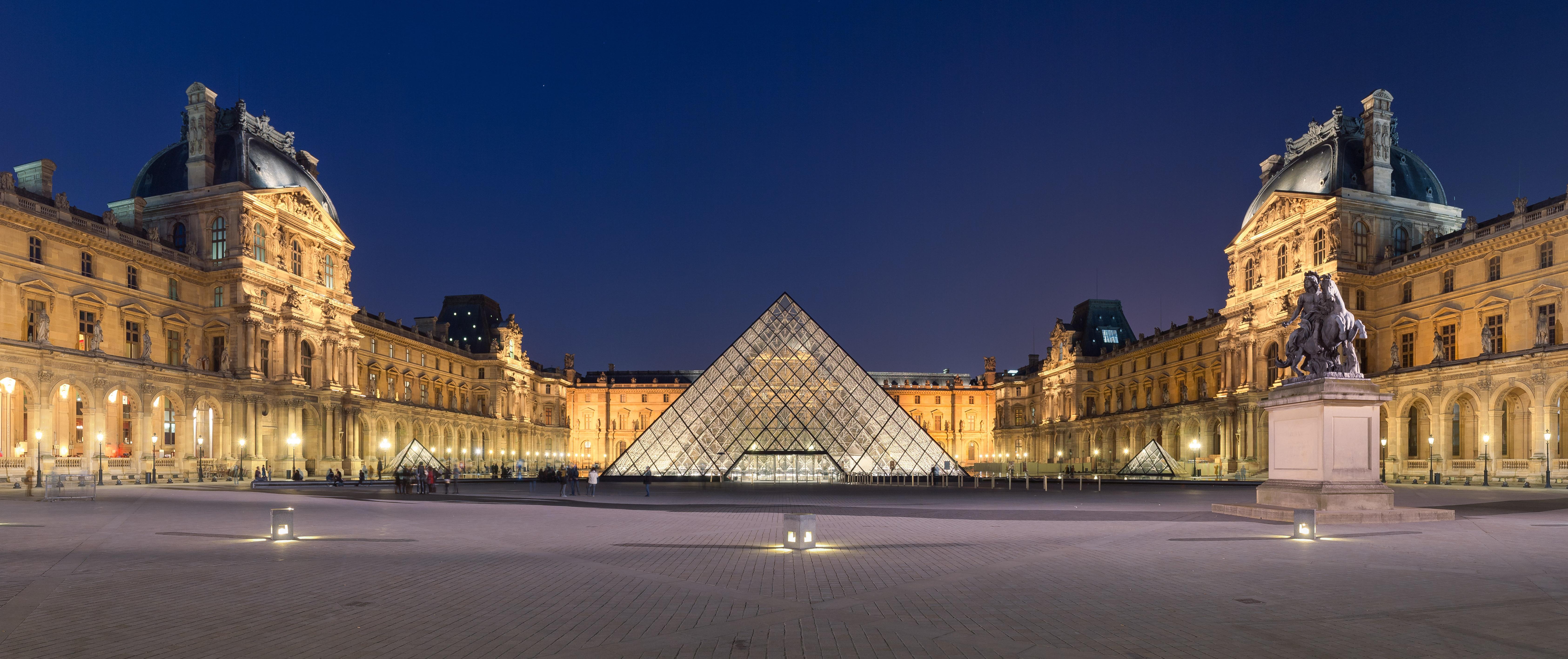 Ugh...Louvre Pyramid