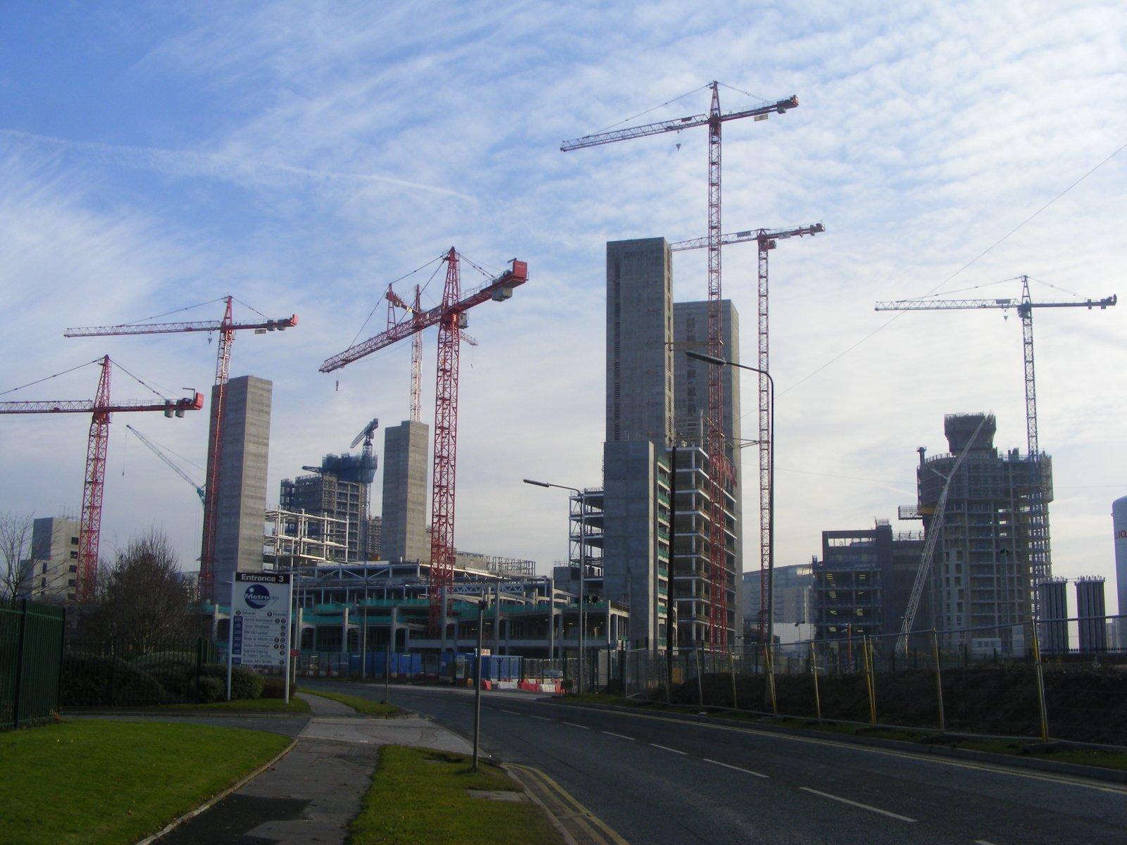 FileMedia City Cranesjpg Wikimedia Commons