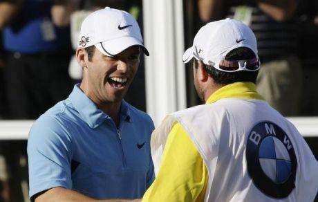English: Paul Casey winner of the PGA Champion...