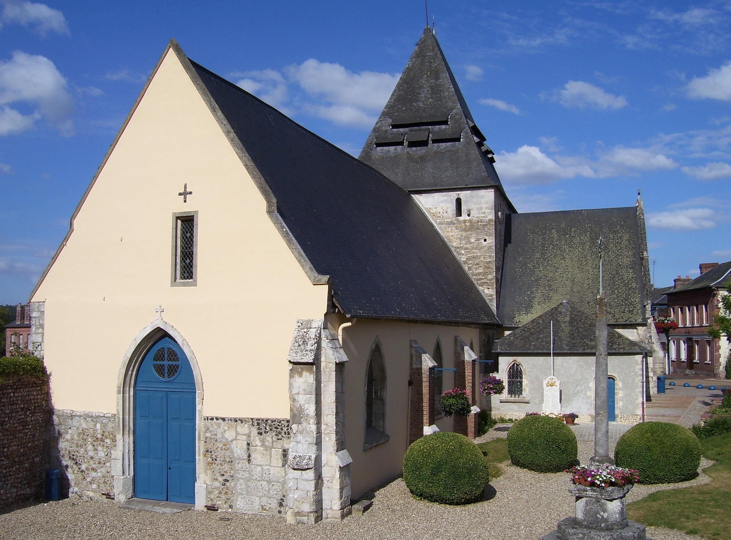 église saint-ouen saint-philbert-sur-risle