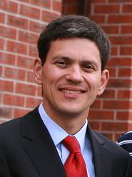 Photo of UK government minister David Miliband...