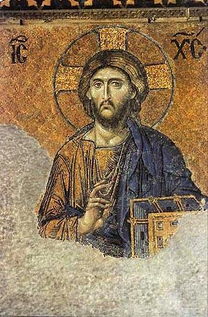 Chrystus Pantokrator w Hagii Sophi