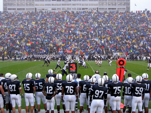 Penn State vs Akron in 2006.