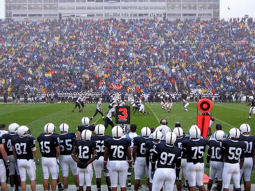 Penn State vs Akron in 2006.