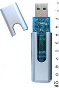 Une clef USB
