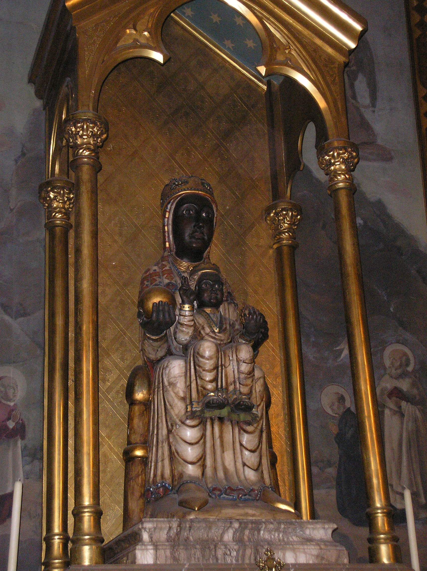 A Shrine of the Madonna and Child