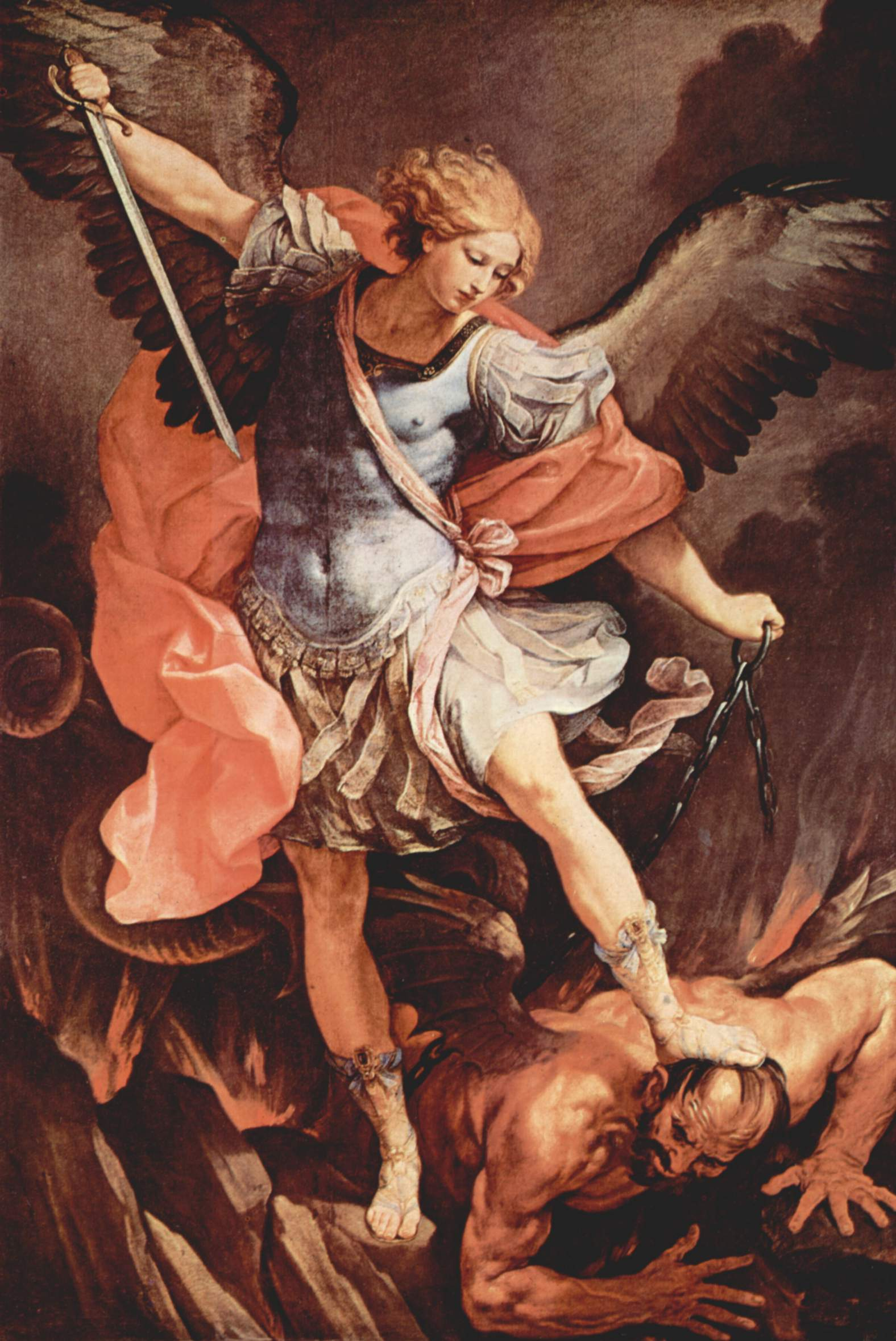 Guido Reni's conception of the Archangel Michael