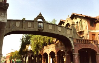 Mission Inn skybridge Riverside CA