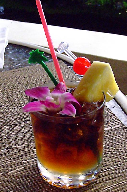 Mai Tai the perfect Hawaiian sunset adult beverage