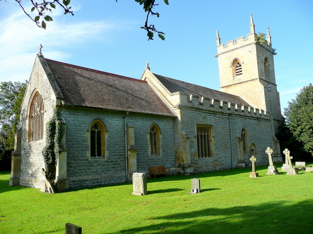 Photo of St. Peter's church, Hinton on the Green