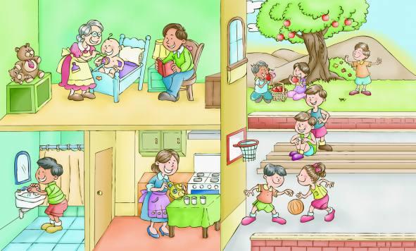 Resultado de imagen de niños en casa