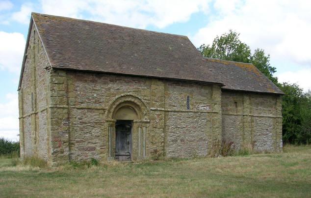 Heath Chapel, near Bouldon, Shropshire