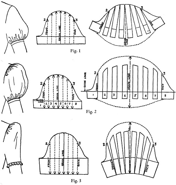 Puffed sleeves Lolita Fashion
