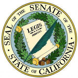 English: Seal of the Senate of California