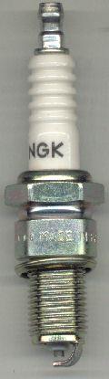 NGK spark plug (type BP6ES).