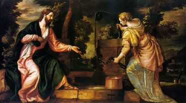 Jesus and Samaritan Woman at the Well