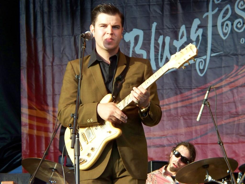 Eli Paperboy Reed at Bluesfest 2008