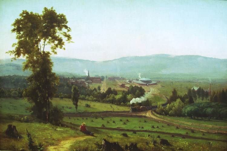 George Inness, The Lackawanna Valley, 1855