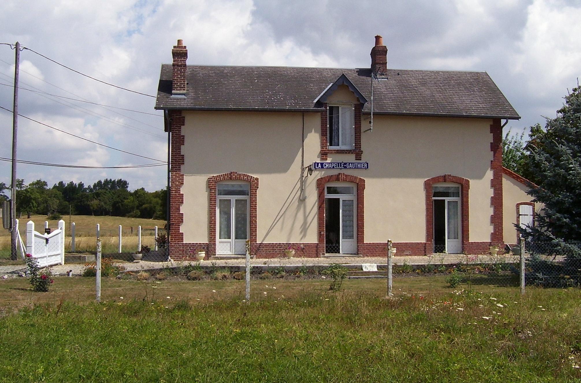 gare de la chapelle-gauthier