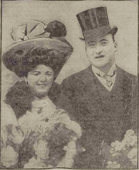 Marie Lloyd and Alec Hurley
