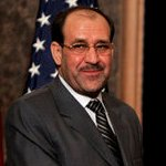 A cropped image of Iraqi Prime Minister Nouri ...