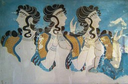 Knossos fresco women