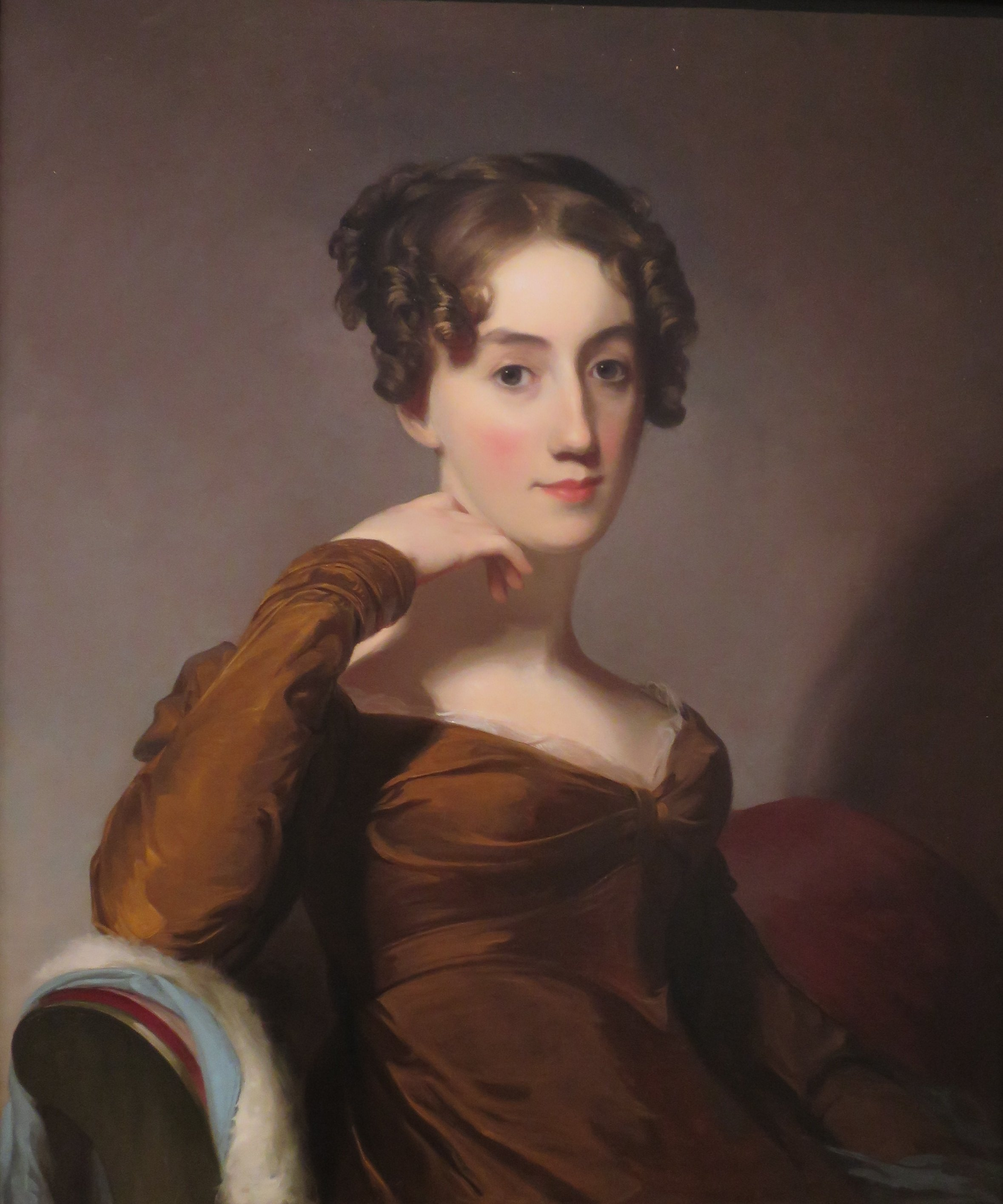 Retrato de Elizabeth McEuen Smith