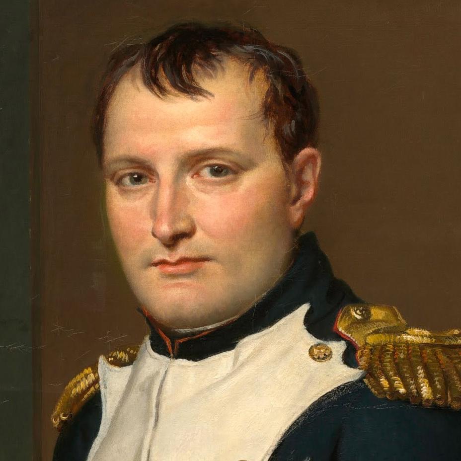 The future French emperor Napoleon Bonaparte w...