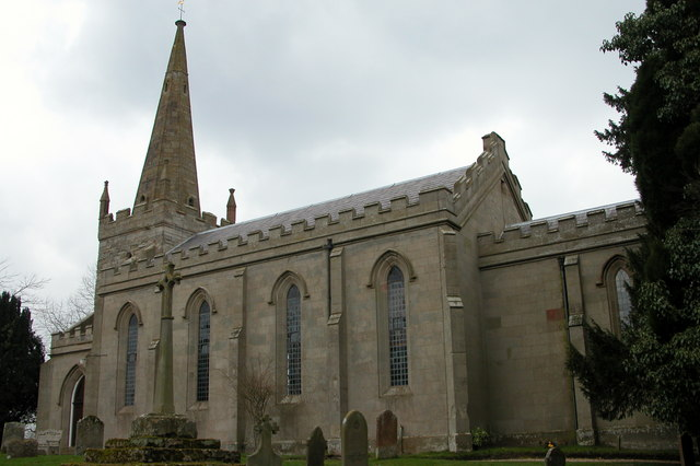 St Michael's parish church, Elmley Lovett, Worcestershire