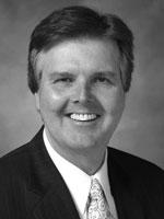 Protrait of State Senator Dan Patrick of Texas