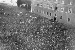 Image result for mussolini piazza venezia