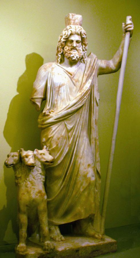 Hades and Cerberus