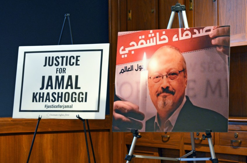 Khashoggi ban for journalist