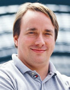 English: Linus Torvalds, creator of the Linux ...