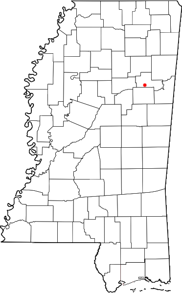Cedar Bluff Alabama Map